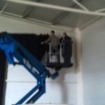 eerste werkzaamheden hal 2012